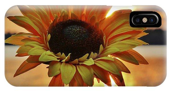 Sunset Flower IPhone Case