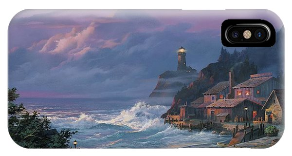 Fog iPhone Case - Sunset Fog by Michael Humphries