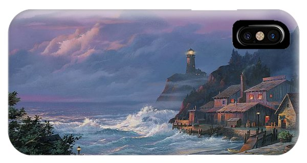 Sunset Fog IPhone Case