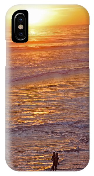 Sunset For Two - Metaphysical Energy Art Print IPhone Case