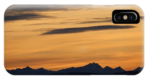 Sunset From 567 IPhone Case