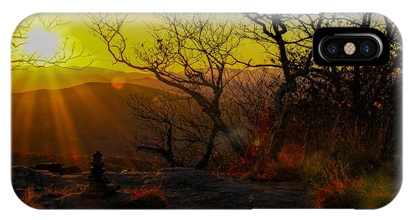 Sunset From Blood Mountain IPhone Case