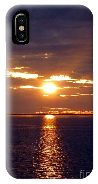Sunset From Peace River Bridge IPhone Case