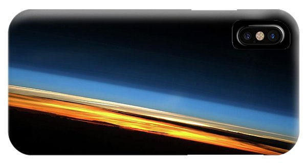Earth Orbit iPhone Case - Sunset From Space by Nasa/science Photo Library