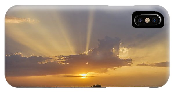 Sunset From The Fair IPhone Case