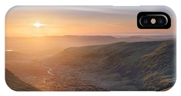 Upland iPhone Case - Sunset From The Merrick by Rod McLean