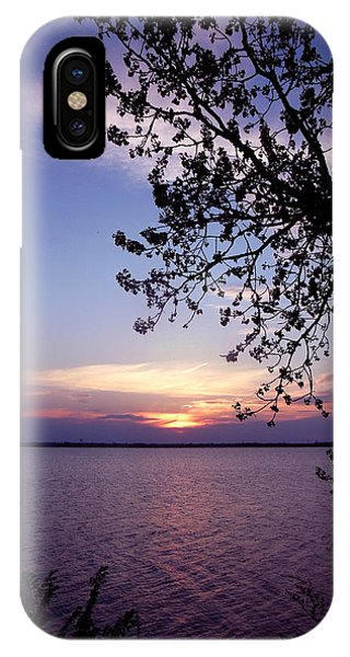 Sunset From The Trees Phone Case by Virginia Forbes