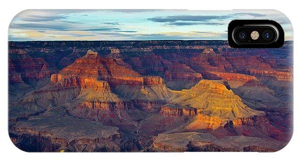 Sunset, Hopi Point, South Rim, Grand IPhone Case