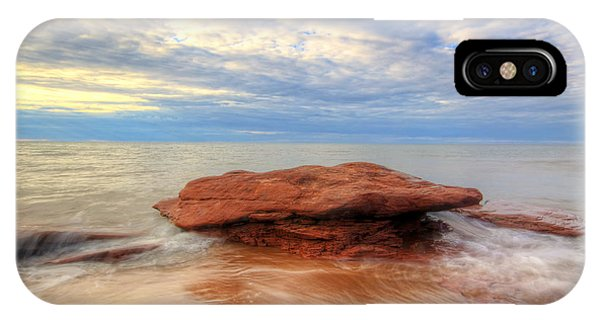 sunset hour at PEI National Park. IPhone Case