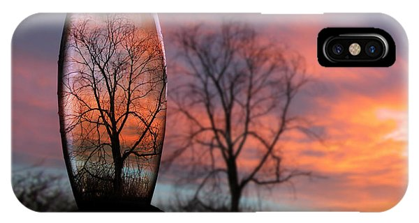 Sunset In A Bottle IPhone Case