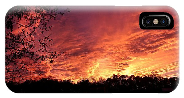 Sunset In Blue Ridge Foothills IPhone Case