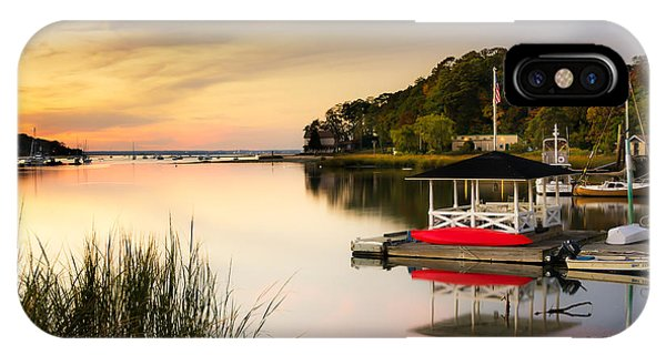 Sunset In Centerport IPhone Case