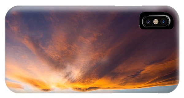 Greg Moore iPhone Case - Sunset In Colorado by Greg Moore