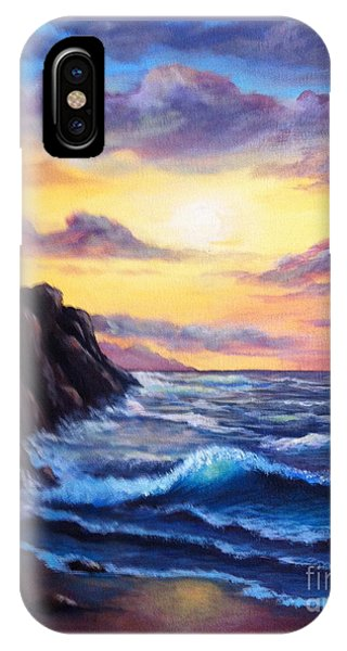 Sunset In Colors IPhone Case