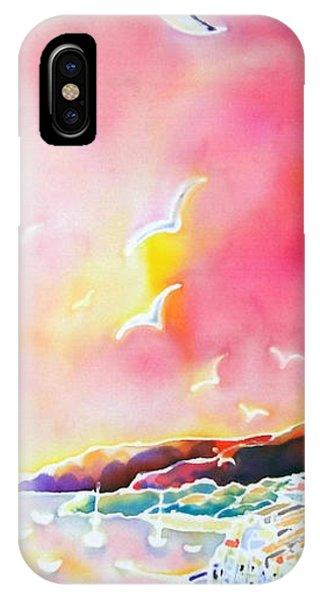 Sunset In Costa Brava IPhone Case