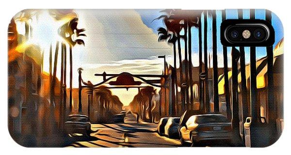 Sunset In Daytona Beach IPhone Case