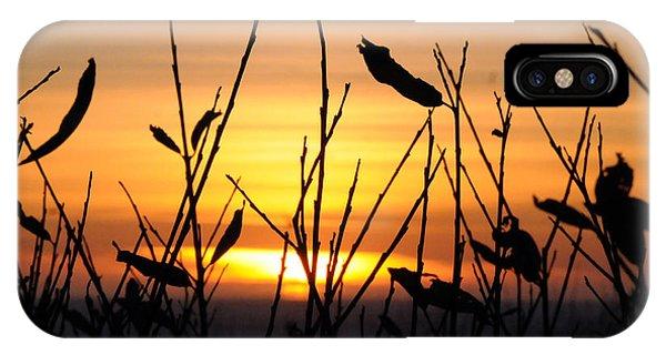 Sunset In Half Moon Bay IPhone Case
