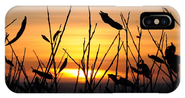 Sunset In Half Moon Bay IPhone Case