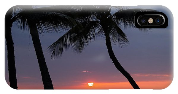 Sunset In Hawaii IPhone Case