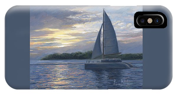 Scenery iPhone Case - Sunset In Key West by Lucie Bilodeau