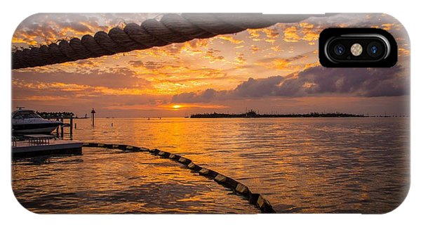 Sunset In Key West IPhone Case