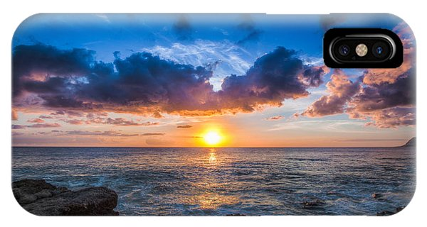 Sunset In Paradise IPhone Case