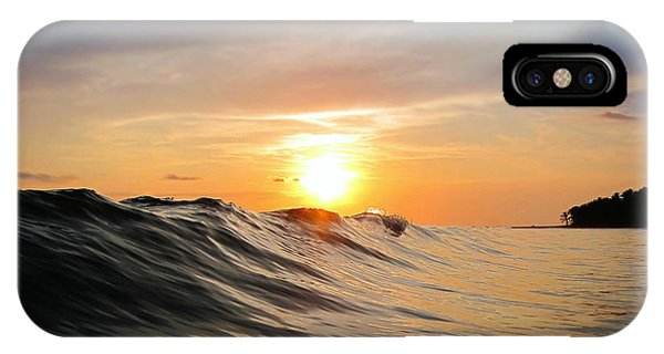 Waterscape iPhone Case - Sunset In Paradise by Nicklas Gustafsson