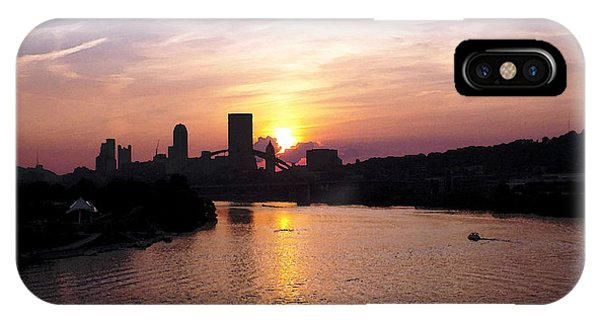 Sunset In Pittsburgh IPhone Case