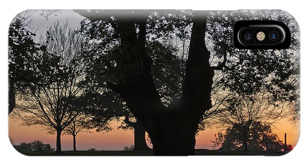 Sunset In Richmond Park IPhone Case