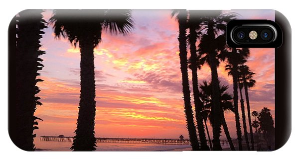 Sunset In San Clemente IPhone Case