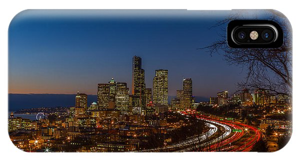 Sunset In Seattle IPhone Case