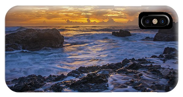 Sunset In Tamarindo IPhone Case