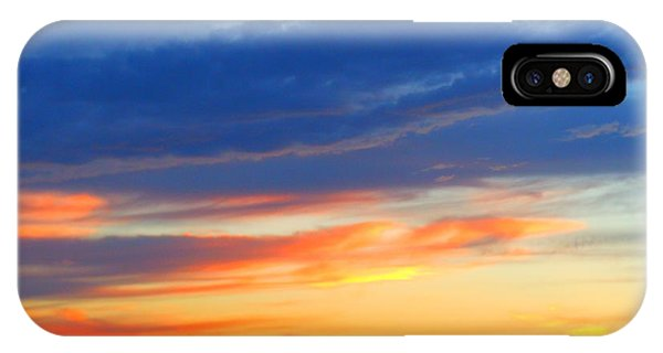 Sunset In The Black Mountains IPhone Case