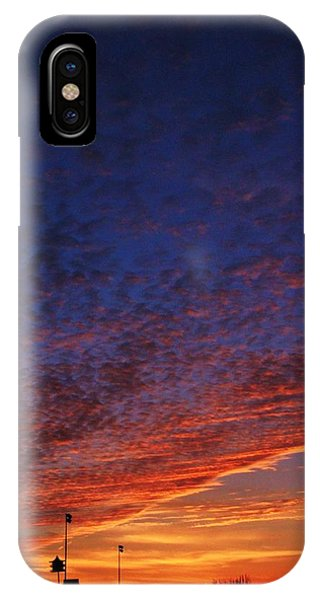 Sunset In The Clouds Phone Case by David Pauley