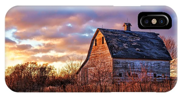 Nebraska iPhone Case - Sunset In The Country by Nikolyn McDonald