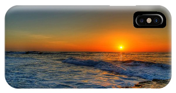 Sunset In The Cove IPhone Case
