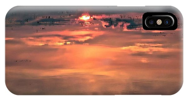 Sunset In The Water IPhone Case
