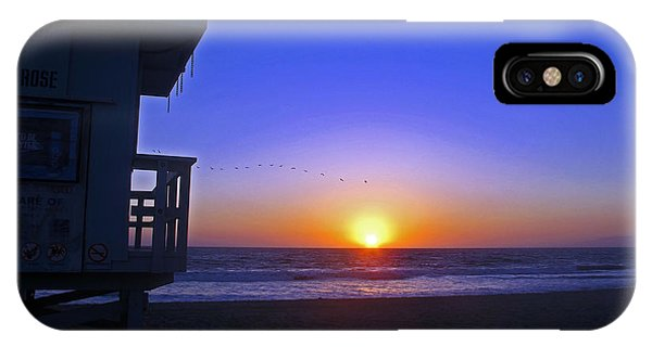 Sunset In Venice IPhone Case