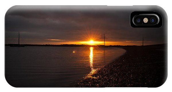 Sunset In West Mersea IPhone Case