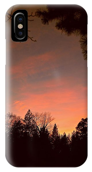 Sunset In Winter IPhone Case