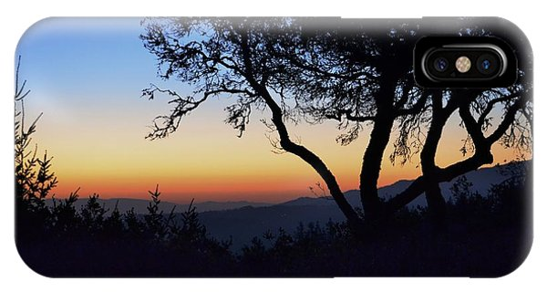 Sunset In Woodside  IPhone Case