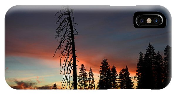 Sunset In Yosemite IPhone Case