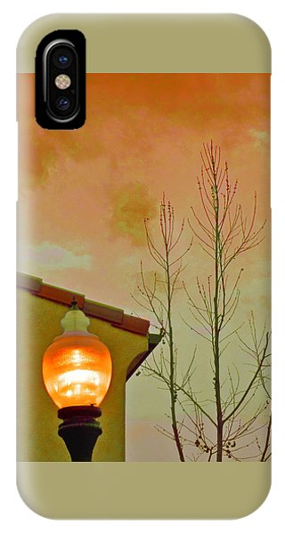 Sunset Lantern IPhone Case