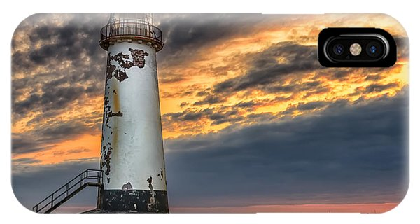Sunset Lighthouse IPhone Case