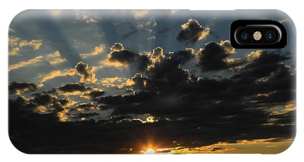 Dark Sunset IPhone Case
