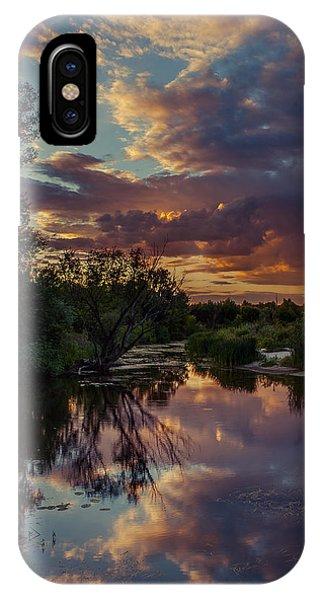 Sunset Mirror IPhone Case