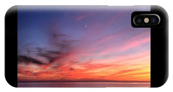 Sunset Moon Rise IPhone Case