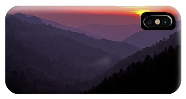 Sunset Morton Overlook IPhone Case