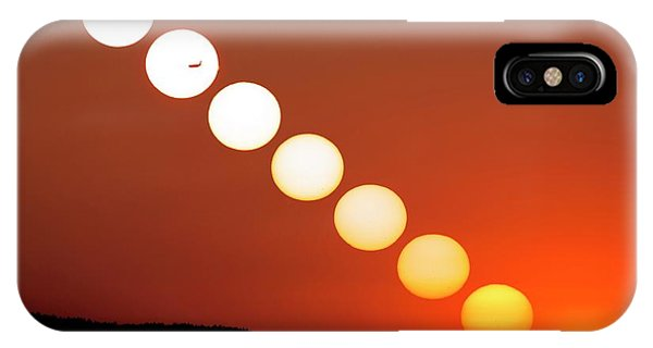 Sunset Multiple Exposure Phone Case by Dr Juerg Alean