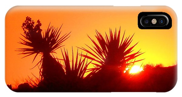 Sunset Near Castle Rock IPhone Case